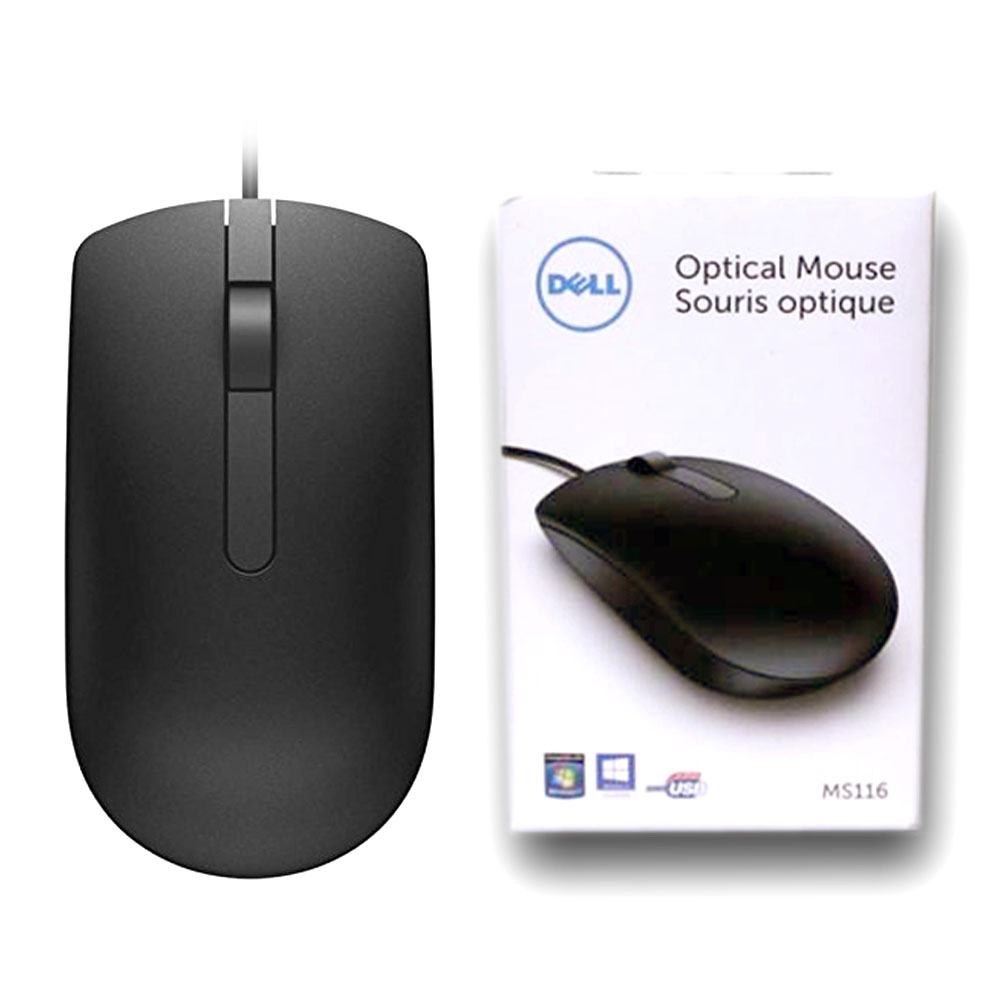 Mouse cu Fir Dell MS116 Optic