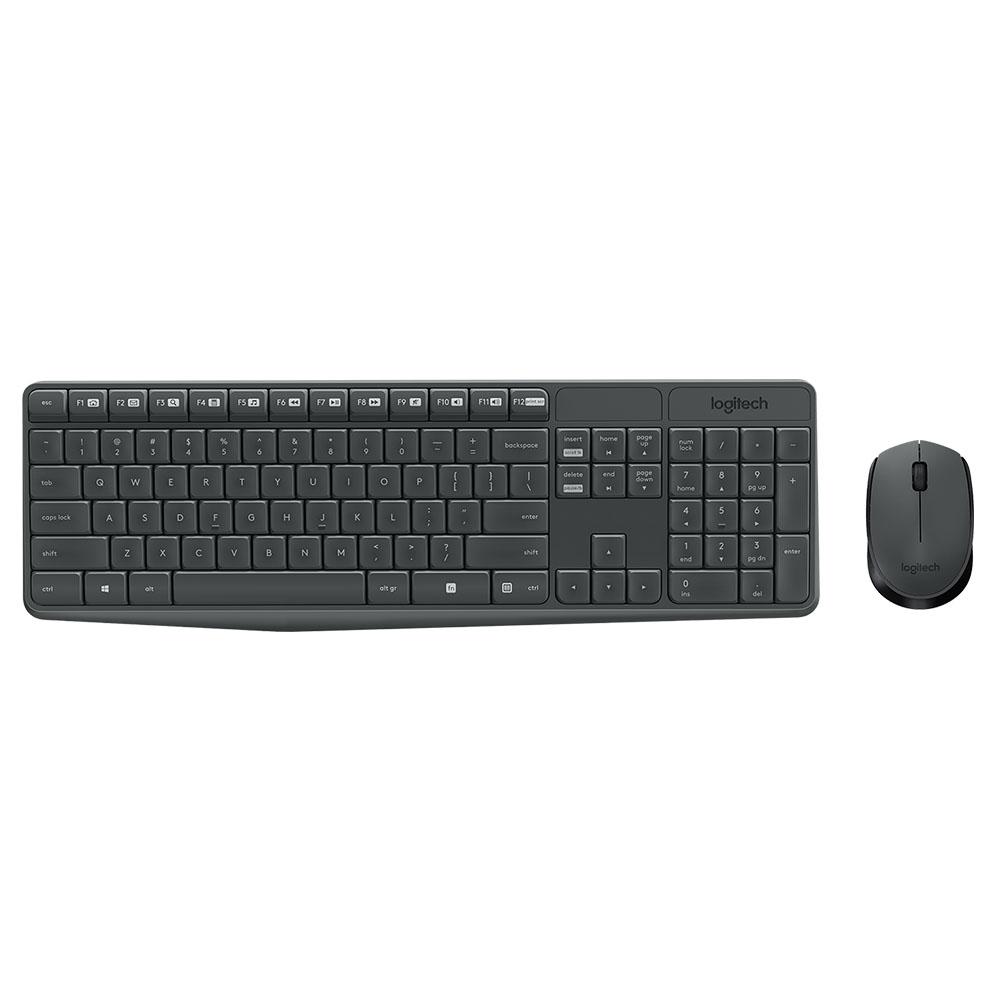 Kit Wireless Tastatura + Mouse Logitech MK235